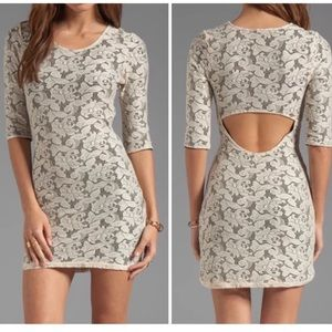 New lovers and friends revolve lace mini dress